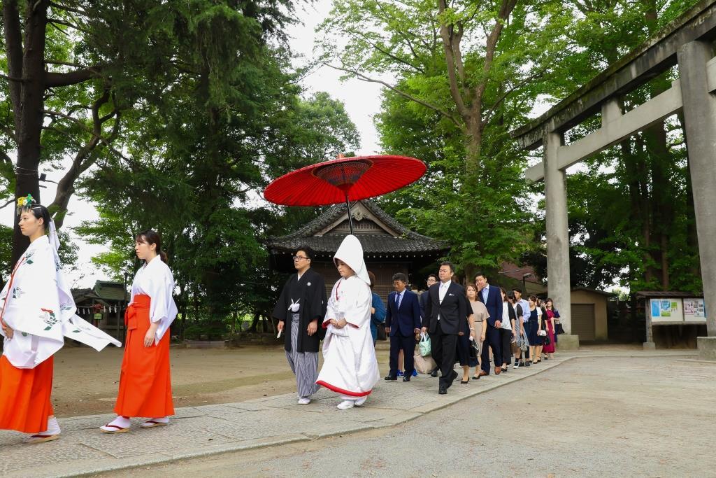 葛西神社 結婚式 写真2
