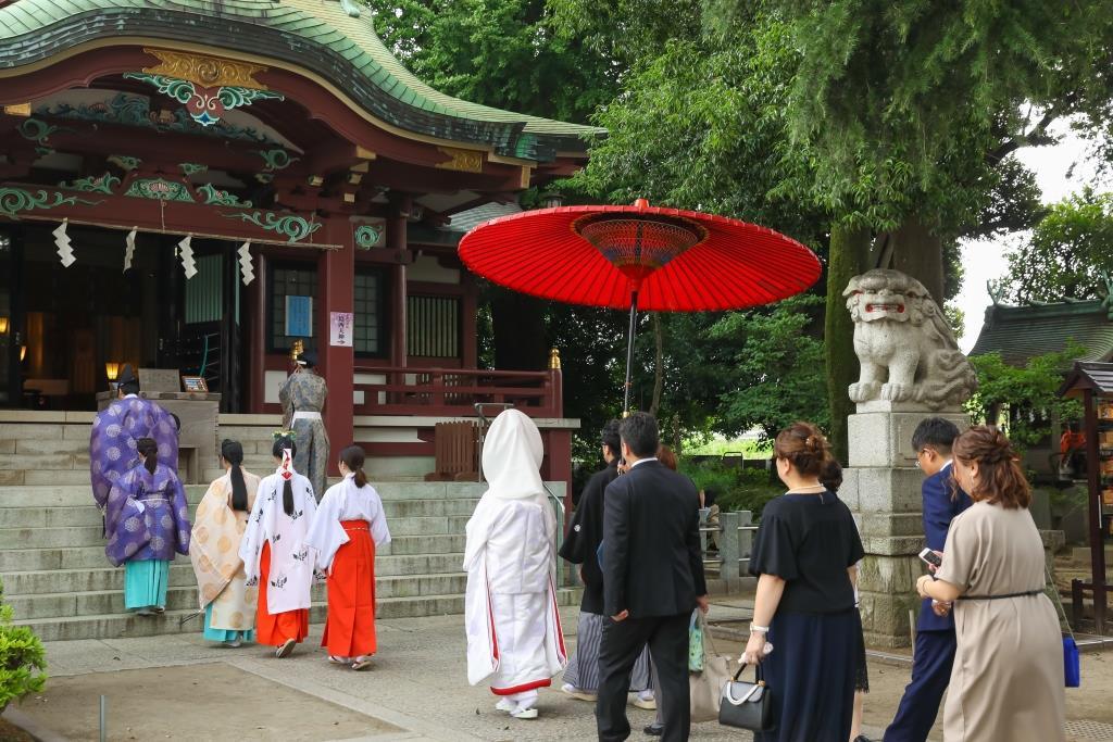 葛西神社 結婚式 写真4