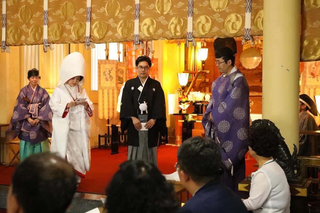 葛西神社 結婚式 写真7