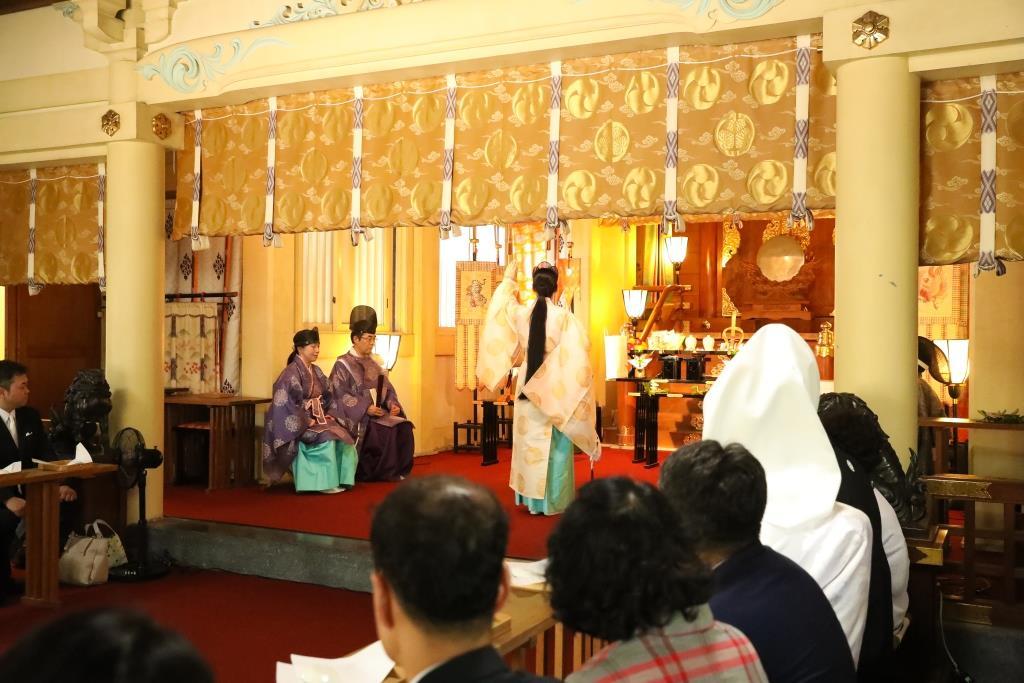 葛西神社 結婚式 写真6