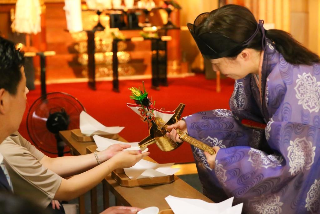 葛西神社 結婚式 写真9