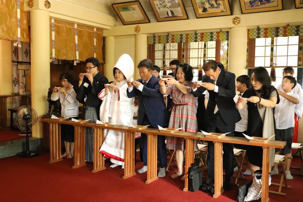 葛西神社 結婚式 写真8
