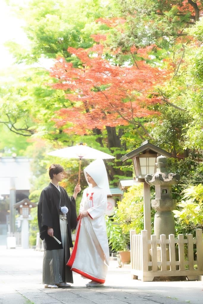 保土ヶ谷 神明社 結婚式 写真1