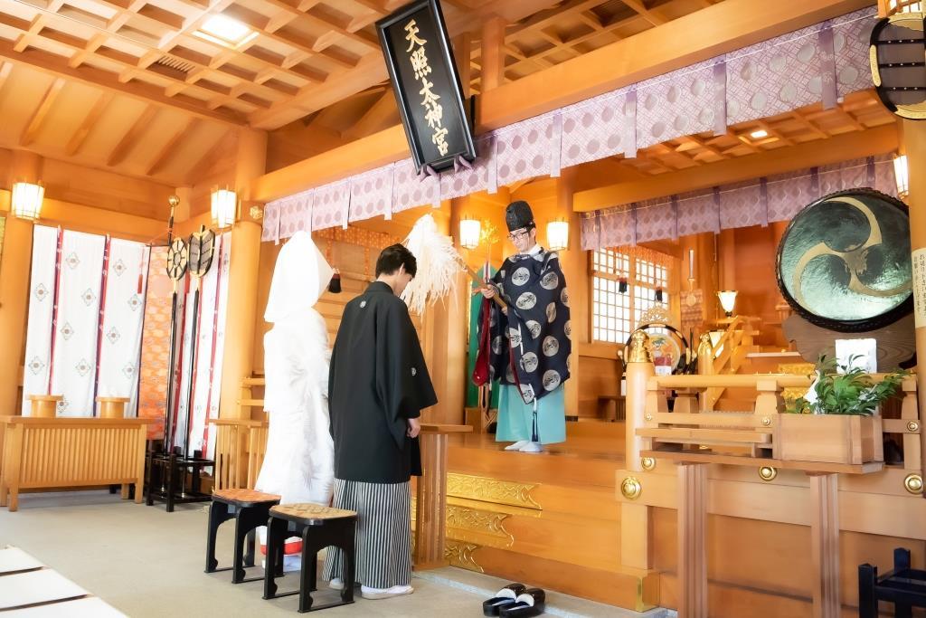 保土ヶ谷 神明社 結婚式 写真3