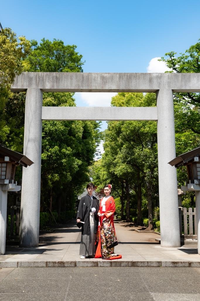 保土ヶ谷 神明社 結婚式 写真5