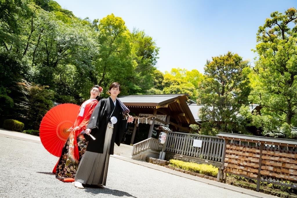 保土ヶ谷 神明社 結婚式 写真2