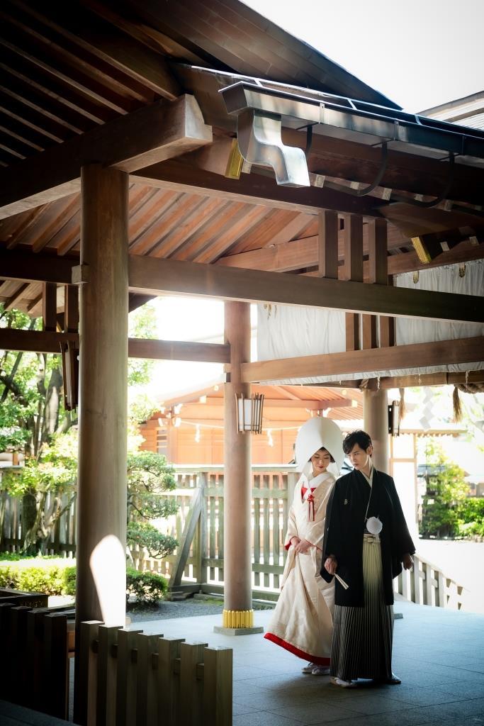保土ヶ谷 神明社 結婚式 写真8
